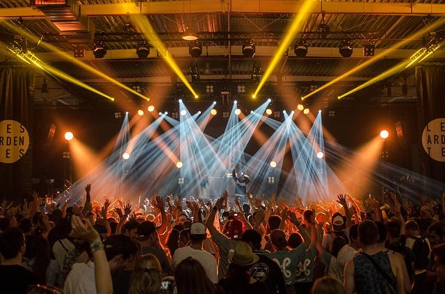 fanoušci koncertu