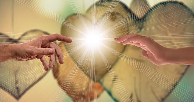 ruce a světlo