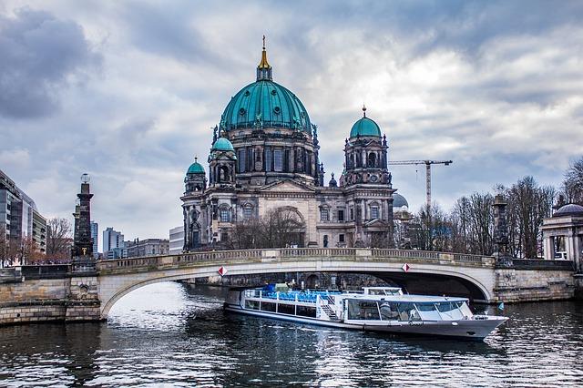 řeka v Berlíně