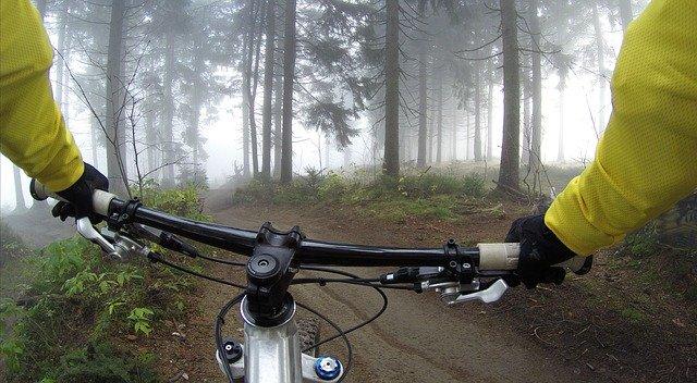 pohled cyklisty