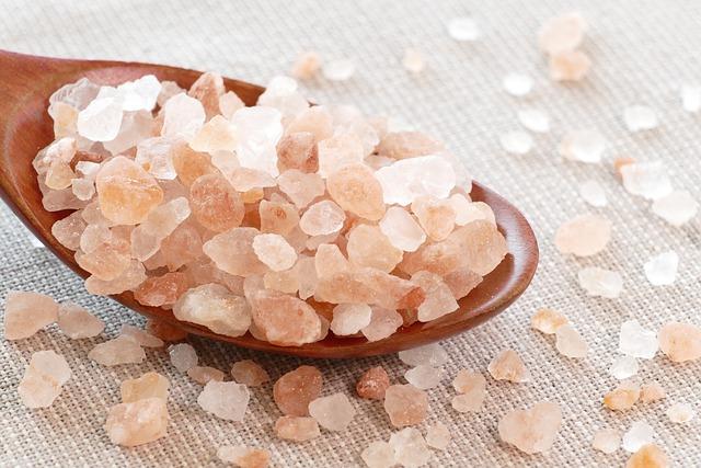 sůl na lžíci